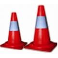 Signalni crveni Čunjevi za saobracaj